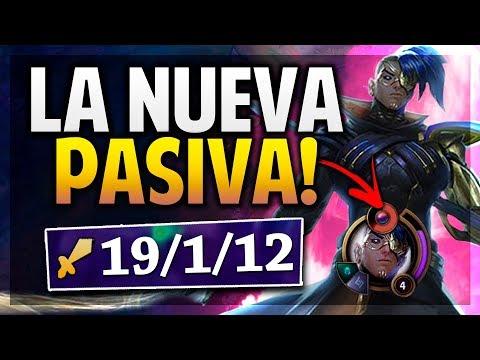 ¡LA NUEVA PASIVA DE KAYN! | MAS FUERTE QUE NUNCA! | League of Legends thumbnail