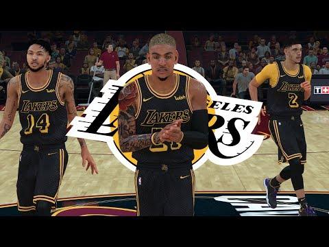 NBA 2K18 MyCAREER - LBJ & PRIMETIME Team Changing Bet! SHOWTIME LAKERS BIG 3!!