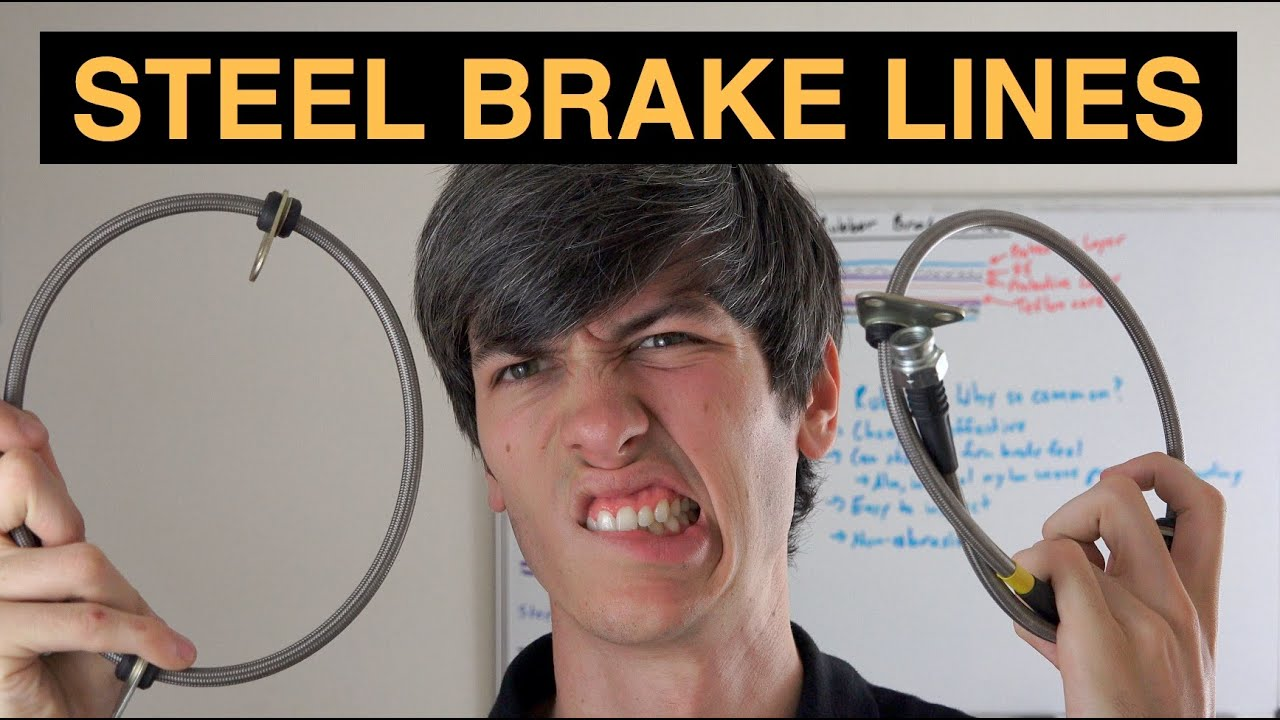 Steel Vs Rubber Brake Lines Are Stainless Silly Youtube Race Car Wiring Diagram Systems Alternative