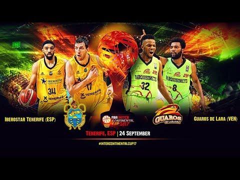 LIVE 🔴 - Iberostar Tenerife (ESP) v Guaros de Lara (VEN) - FIBA Intercontinental Cup