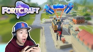 Fortnite Mobile Clone is Out on IOS & Android - Fortcraft First Look & Gameplay