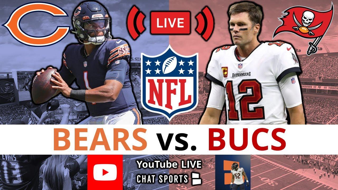 Week 7 updates: Chicago Bears at Tampa Bay Buccaneers