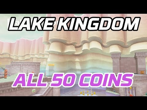 [Super Mario Odyssey] All Lake Kingdom Coins (50 Purple Local Coins)