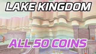 [Super Mario Odyssey] All Lake Kingdom Coins (50 purple local coins)