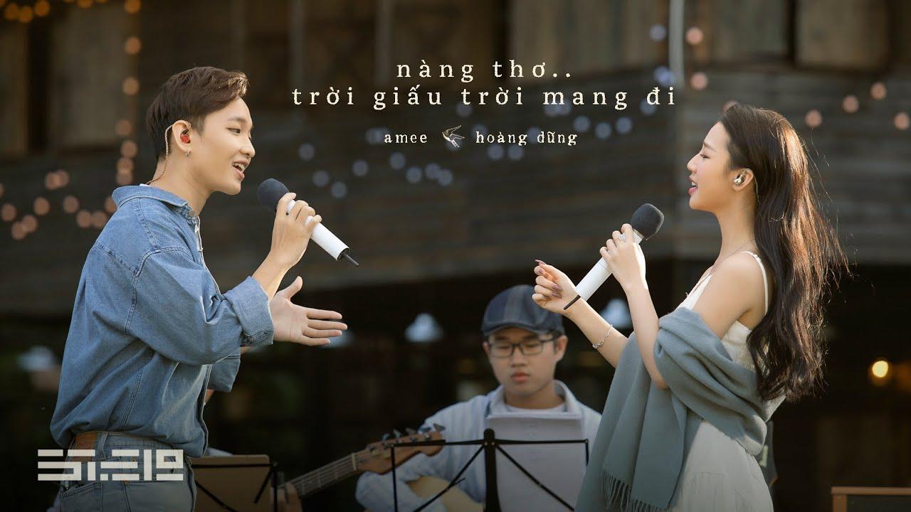 nàng thơ.. trời giấu trời mang đi - AMEE \u0026 Hoàng Dũng | 'dreamee' live acoustic show