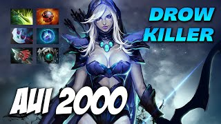 AUI2000 DROW RANGER - Dota 2 Pro Gameplay [Watch & Learn]