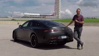 2019 Mercedes-AMG GT Viertürer 4Door - First Test Drive Video Review