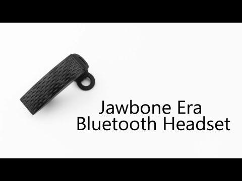 Jawbone Era Bluetooth Headset Video Review