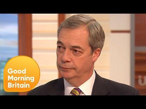 Nigel Farage Reacts to Billionaire