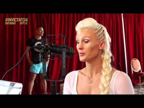 Invicta FC 14: Cindy Dandois Radio Interview