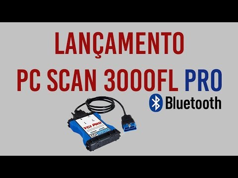 Lançamento PC SCAN 3000FL PRO Bluetooth Napro