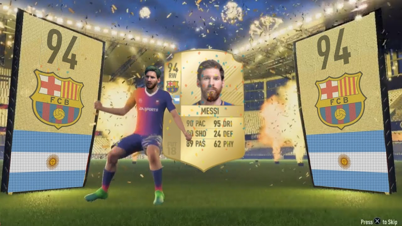 Download FIFA 09 - FIFA 18 PACK OPENING ANIMATION (FUT HISTORY)