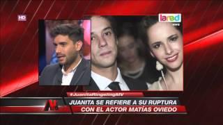 Juanita Ringeling habló en exclusiva sobre su ruptura con Matías Oviedo