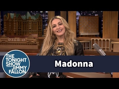 Madonna's Kids Keep Her from Being Basic