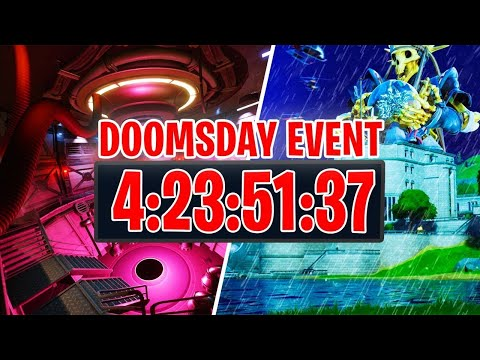 Fortnite Doomsday Event countdown showing in-game. - YouTube