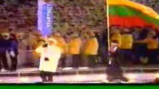 2002 Winter Olympics - Opening Ceremony - Parade of Athletes