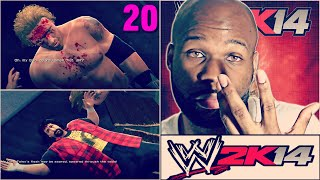 WWE 2K14 30 Years of Wrestlemania Part 20 - Edge vs. Mick Foley / Batista vs. The Undertaker