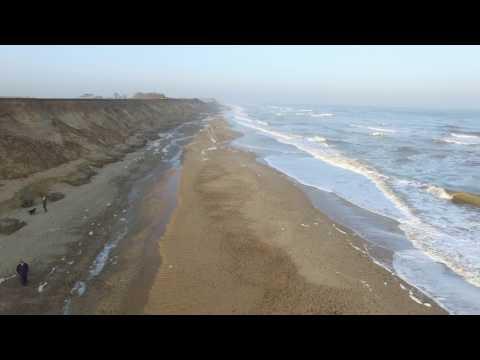Covehithe cliffs 14th Feb 17