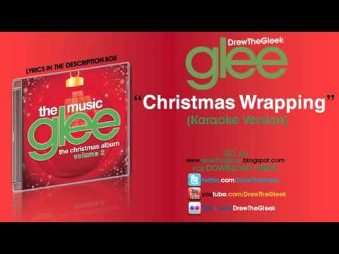 Christmas Wrapping Instrumental + Download  Glee