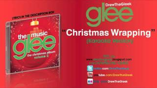 Christmas Wrapping Instrumental + Download ( Glee)