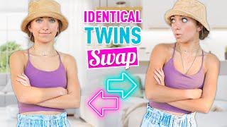 Identical Twins Switch Places AGAiN! | Twin Swap Senior Year