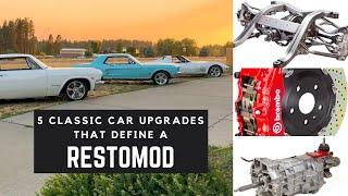 5 Classic Car Upgrades that Define A RestoMod