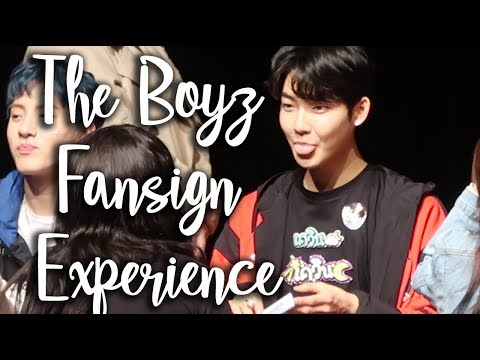 THE BOYZ FANSIGN EXPERIENCE #3 (THEY ALL REMEMBER ME!) Mp3