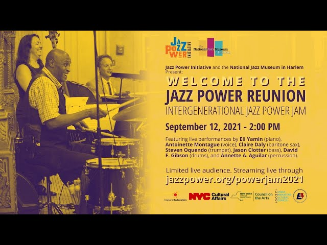 Intergenerational Jazz Power Jam: Welcome to the Family Reunion