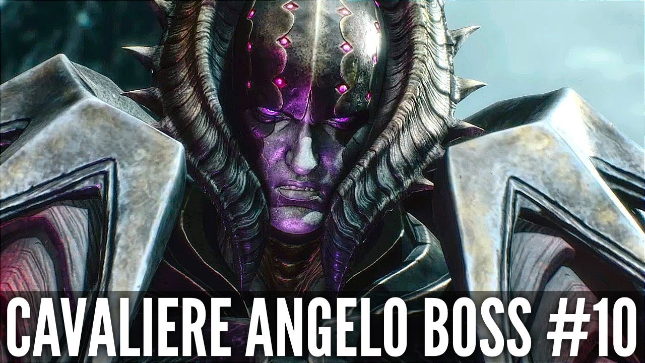 Teufel kann 5 Cavaliere Angelo Boss Fight # 10 (1080p HD 60FPS) + video