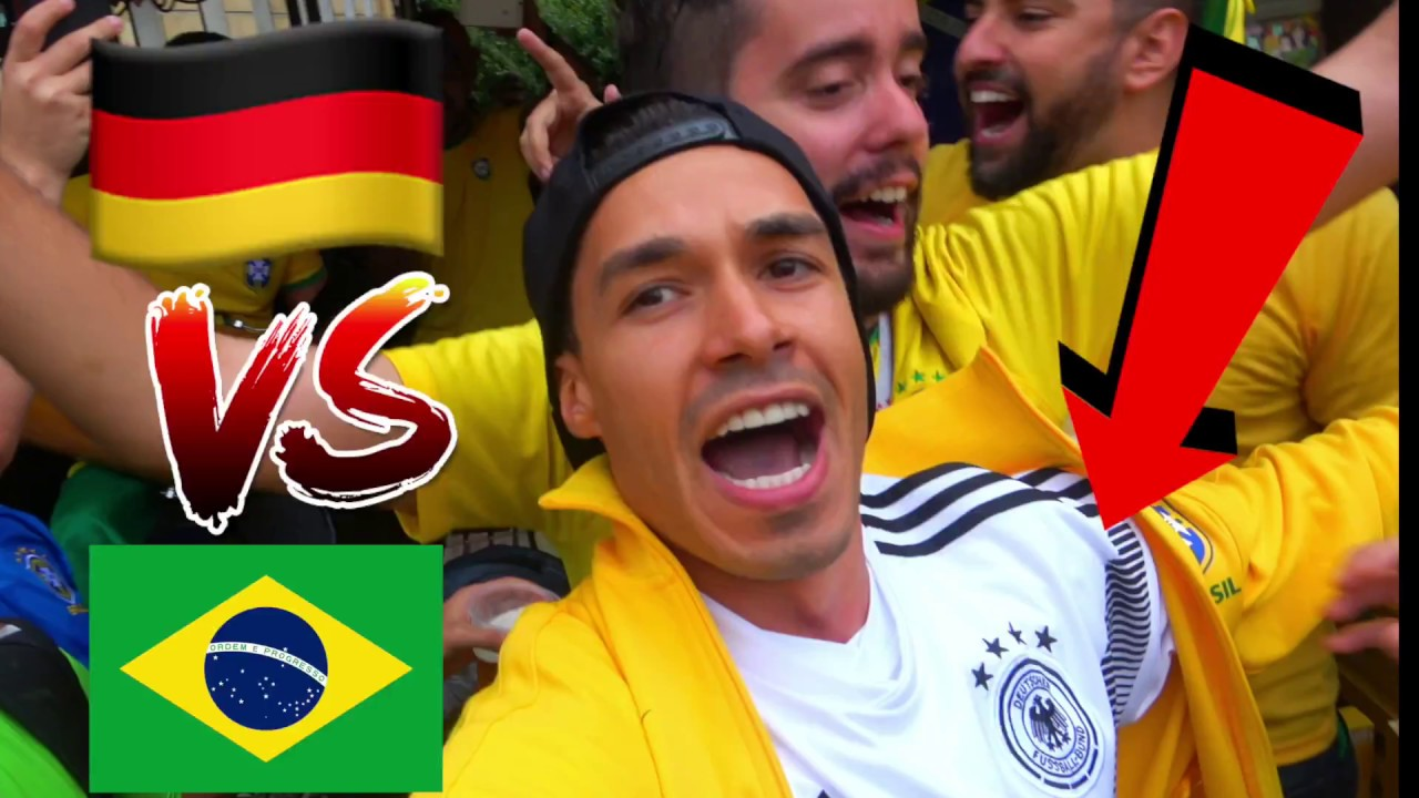 Brasilien Vs Deutschland