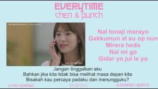 Download CHEN & PUNCH - EVERYTIME (Ost. Descendants of The Sun) [MV, EASY LYRIC, LIRIK INDONESIA]