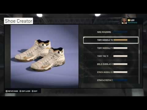 NBA 2K15 Shoe Creation! How To Make Galaxy Kobe 7's And USA Lebron 12's Lows!