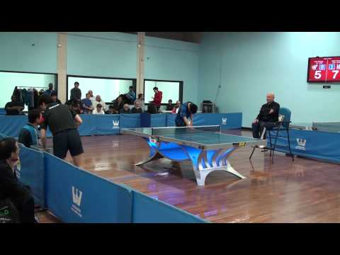Westchester Table Tennis Center - April Open Singles Finals (2014)