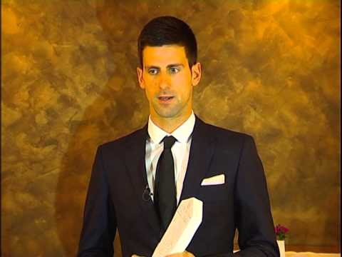 Novak Djokovic - Osoba godine