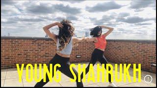 Young Shahrukh - Tesher | Dance Cover | Ria Saraf & Aradhna Bahanda | London Dancers