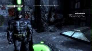 Batman Arkham City - Walkthrough Ep.50 Riddler Trophies Park Row [PC, PS3, XBox]