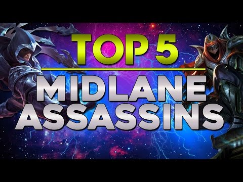 Top 5 Assassins German - League of Legends