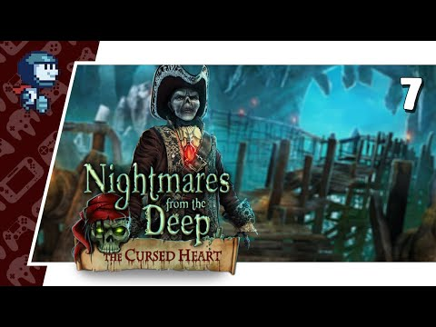 INTO THE CATACOMBS - Nightmares from the Deep: the Cursed Heart #7 (Let's Play/PC)  