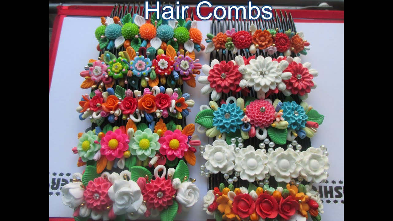 Handmade Hair Combs - YouTube