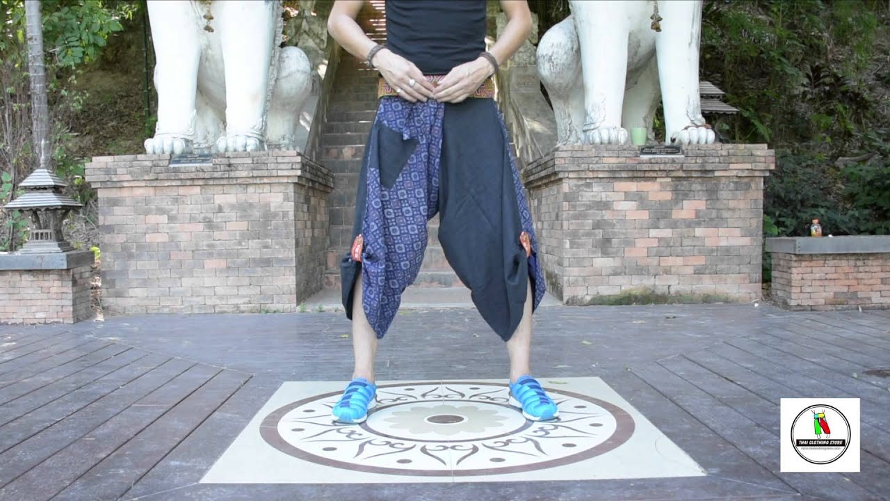 How To Wear New Style Samurai Pants