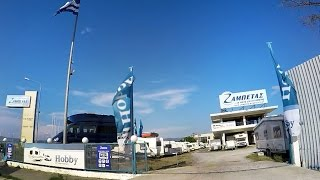 Zampetas Camper-Stop and Service Station near Thessaloniki