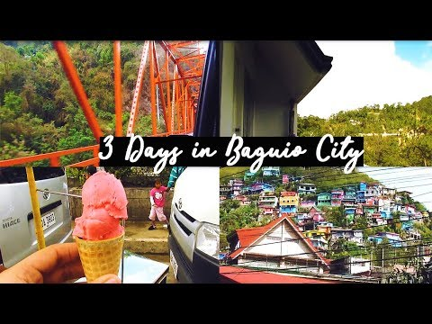 3 DAYS IN BAGUIO CITY! (TIPS & ADVICES) | DanVentures VLOG#14