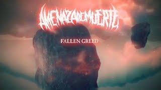 AMENAZA DE MUERTE - FALLEN GREED [OFFICIAL LYRIC VIDEO] (2021) SW EXCLUSIVE