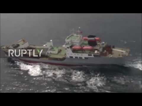 China: Helicopters swoop over South China Sea in Russo-Chinese naval drills