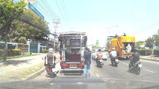 Close Call for Motorcyclist in Thailand || ViralHog thumbnail
