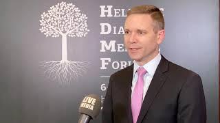 Gregory Pfleger - Πρόξενος ΗΠΑ, Hellenic Diaspora Medical Forum