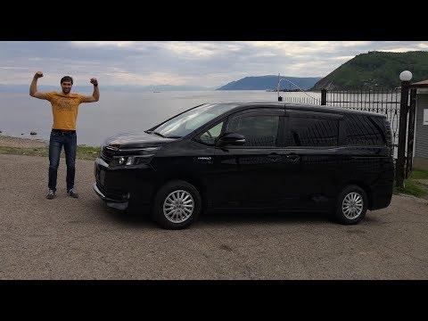 Обзор Toyota Voxy Noah 2015 Hybrid.  Полный Тест драйв