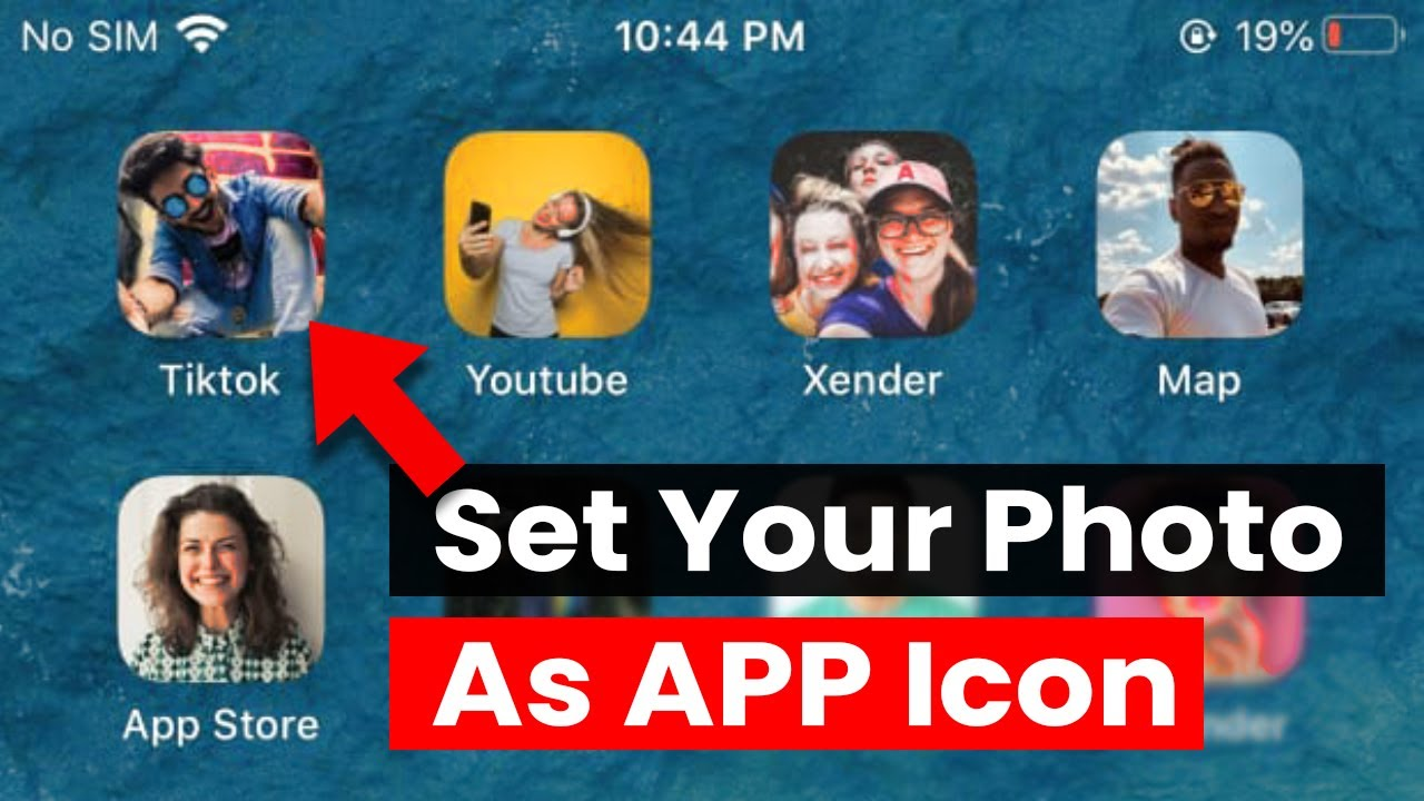 How To Change And Customize App Icons On An Iphone Ios 13 Youtube