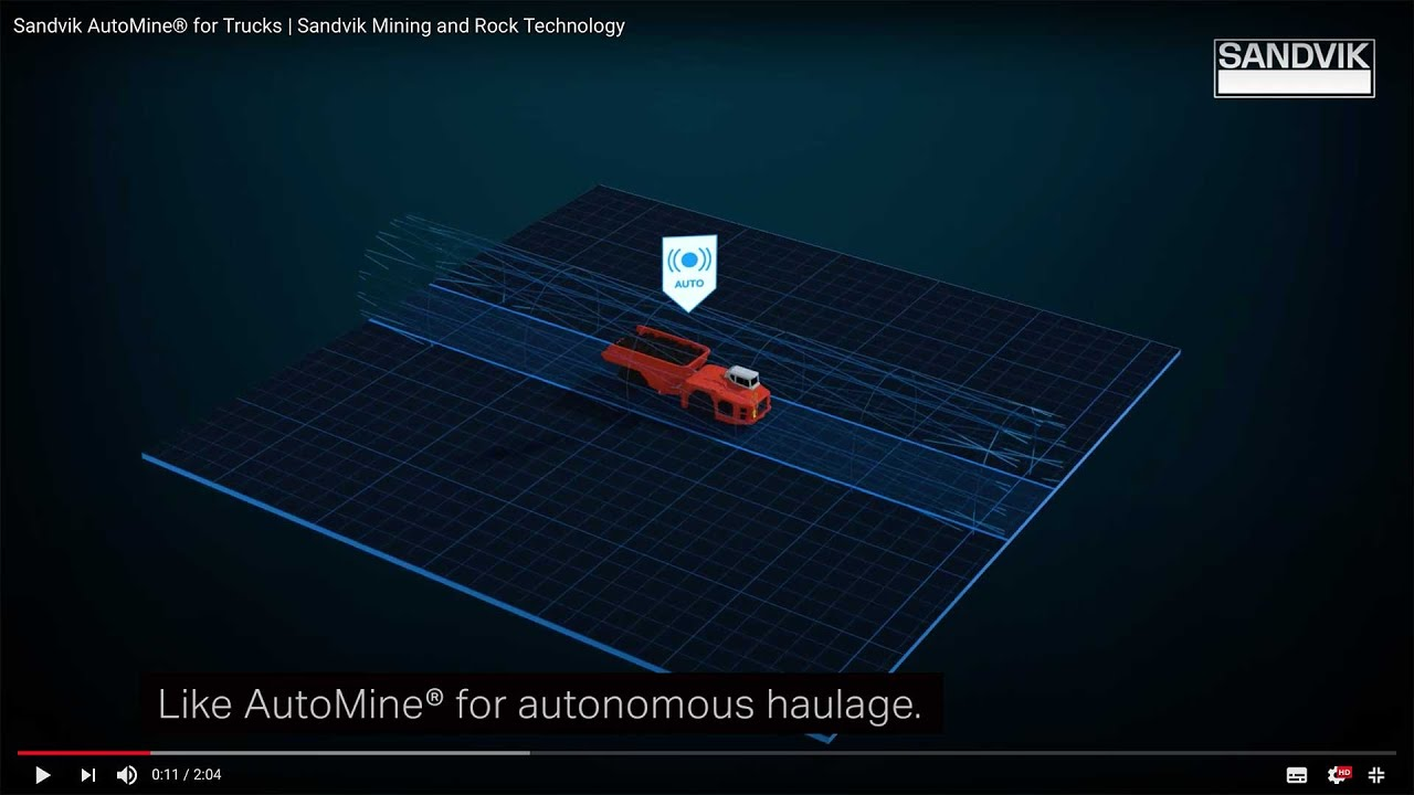 AutoMine® for Trucks | Sandvik Mining and Rock Technology