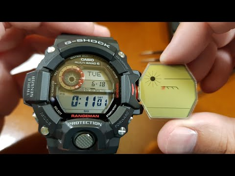 Casio G-Shock GW-9400-1ER RANGEMAN - Wymiana Wyświetlacza [PL]